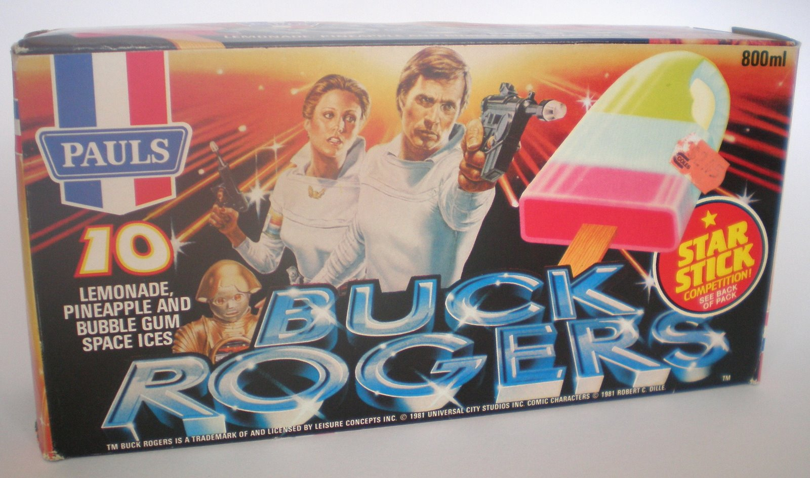 030507 022 728702 Vintage Buck Rogers Australian Ice Creams