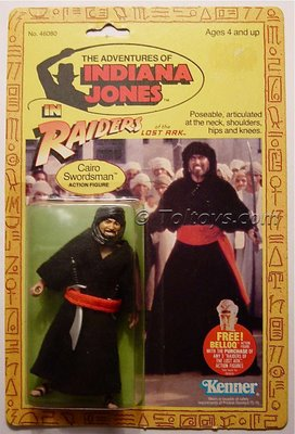 Kenner Indiana Jones Figures
