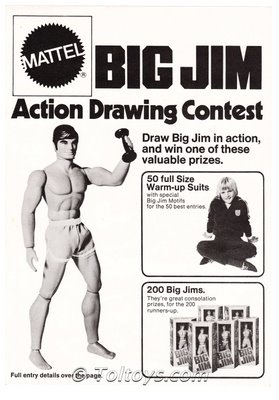 IMG 0001wtmk 793598 Mattel Australia Big Jim Action Drawing Contest 1973
