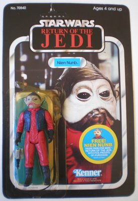 Toltoys ROTJ 65 Backs Nien Nunb Offer