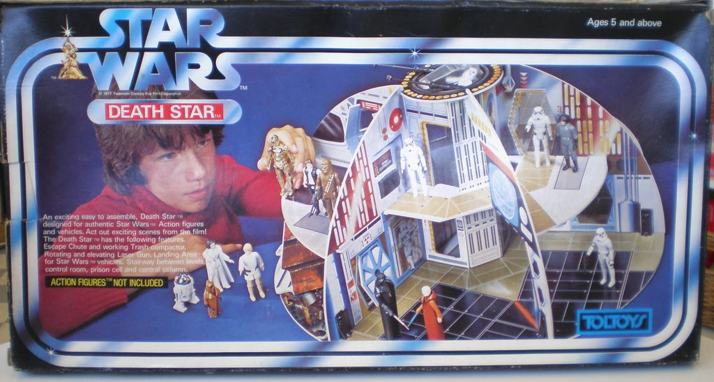 Toltoys Death Star Playset Play-value. Great toy-makers have always known