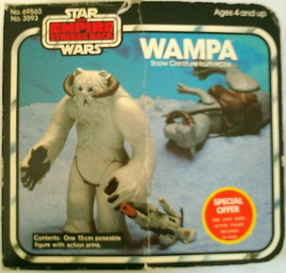 SO Wampa 754120 Waltons Special Offer Star Wars