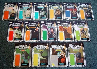 SWToltoyscardset 789230 Star Wars Toltoys Card Backs