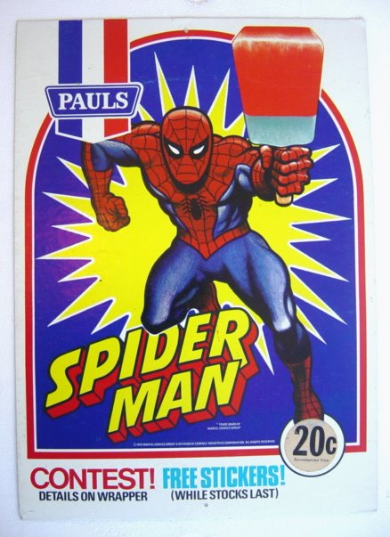 Spideydisp.jpeg 725057 Licensed Australian Ice Cream Super Heroes