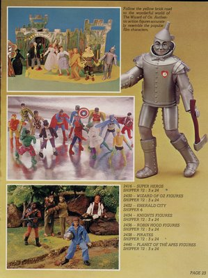 Mego and Toltoys