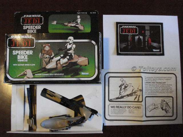 ROTJ Toltoys Speederbike 1 for emailwtmk Toltoys Return of the Jedi Speederbike