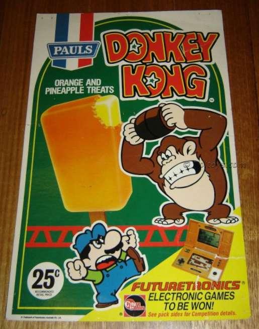 DK Futuretronics 106wtmk2 Donkey Kong Icey Poles and Futuretronics G&W