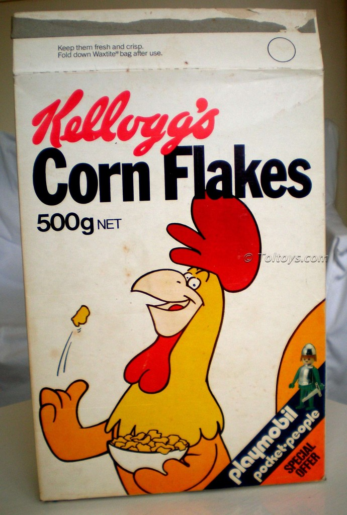 P2220046wtmk5 690x1024 1977 Kenbrite / Playmobil Pocket People Kelloggs Corn Flakes Promotion