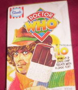 WHo box 183 Aronmc 3wtmk Doctor Down Under   Doctor Who Ice Cream & Showbag